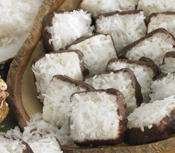 Coconut Patties, 3 - 1 lb. Box